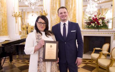 Prezes Evereth Publishing odznaczona przez Polskie Towarzystwo Lekarskie