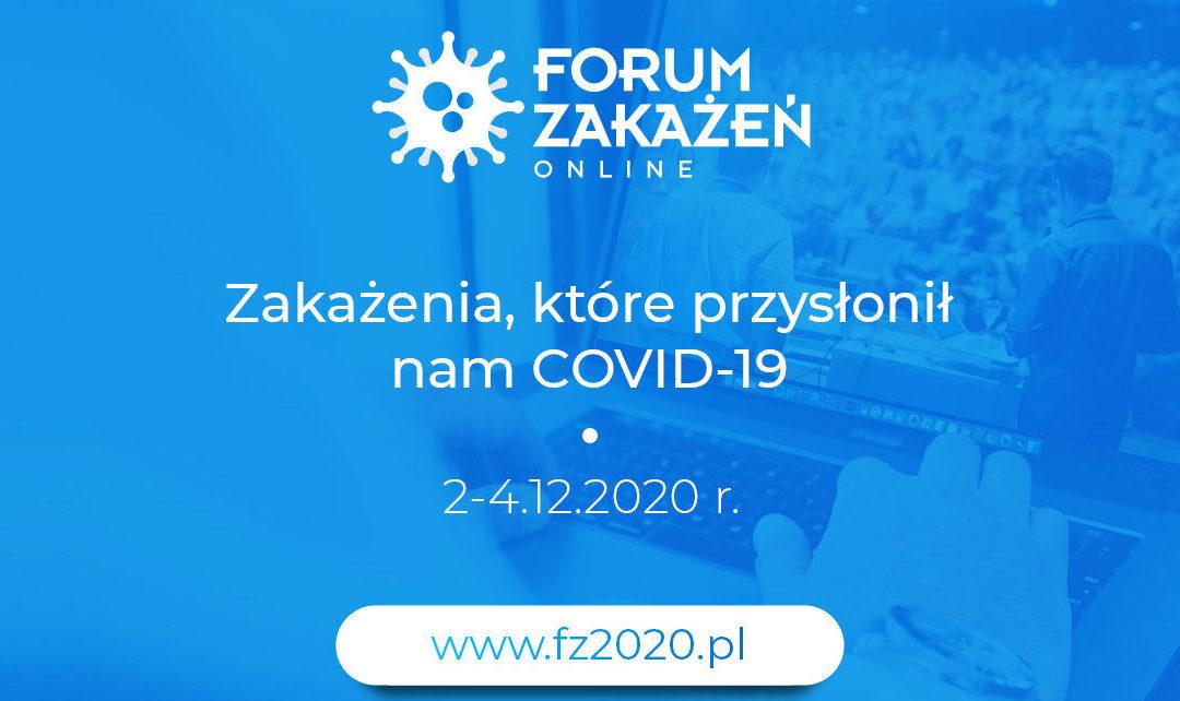 Zapisz sięna Forum Zakażeń ONLINE!